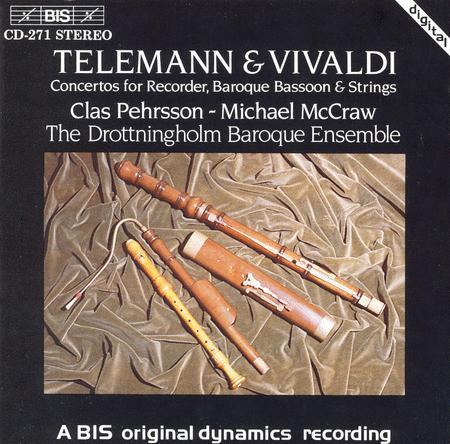 Concertos for Recorder and Bas
