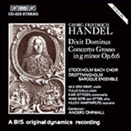 Handel: Dixit Dominus; Concert