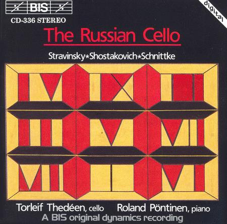 Shostakovich; Schnittke: Cello