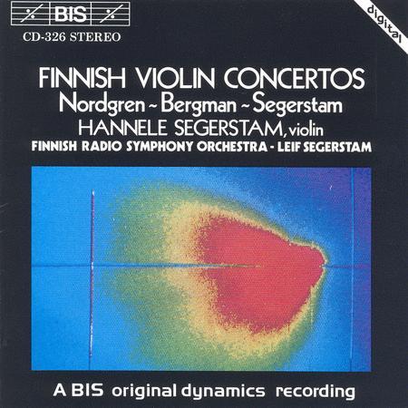 Nordgren; Bergman: Violin Conc