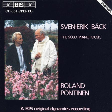 Back Solo Piano Music