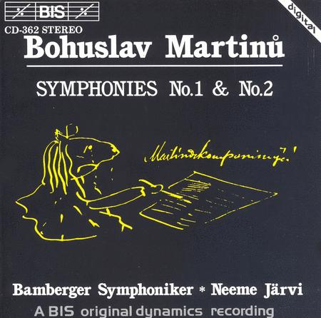 Martinu: Symphonies Nos. 1 And