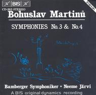 Martinu: Symphonies Nos. 3 And