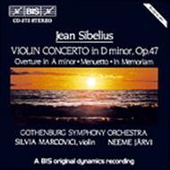 Violin Concerto in D Minor; Ov