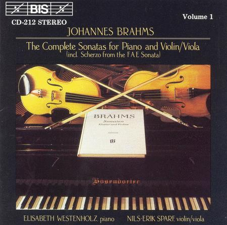 Volume 1: Complete Violin/Viola Sonatas