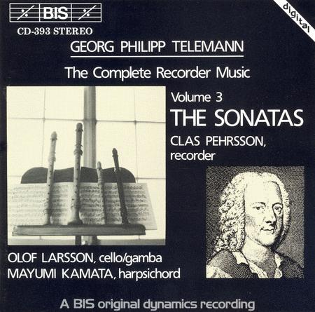 Volume 3: Complete Recorder Music