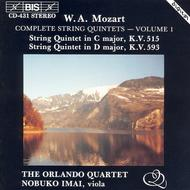 Volume 1: Complete String Quintets