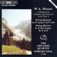 Volume 2: Complete String Quintets