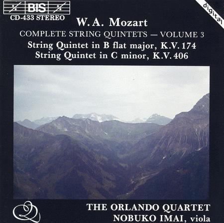 Volume 3: Complete String Quintets