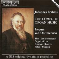 Brahms: Complete Organ Music