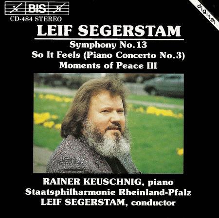 Segerstam: Symphony No. 13; Pi