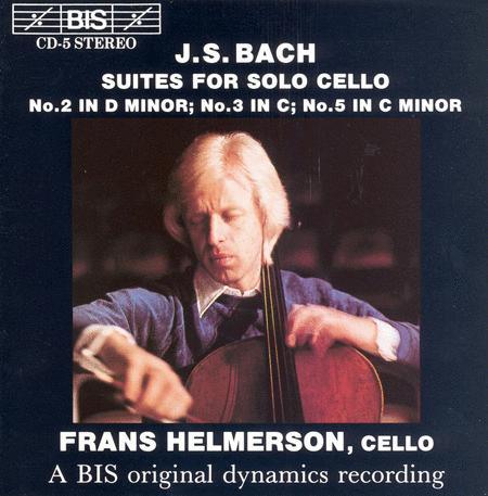 Bach Cello Suites Nos. 2 3 A