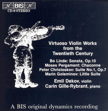 Virtuoso Violin Works From The