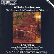 Volume 1: Complete Solo Piano Music
