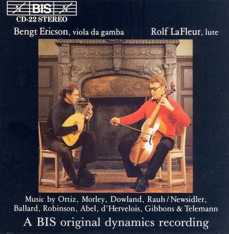 Music for Viola Da Gamba and L