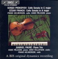 Prokofiev; Franck: Cello Sonat