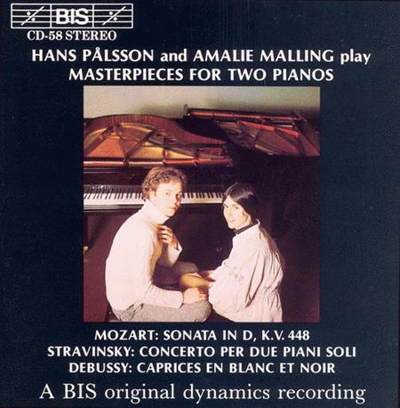 Mozart; Stravinsky; Debussy: M