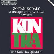 Kodaly: String Quartets No. 1