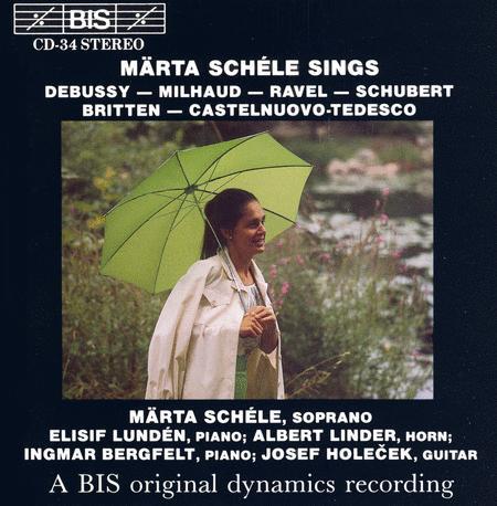 Songs By Debussy; Milhaud; Rav