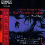 Volume 1: Cantatas BWV 4 150 196