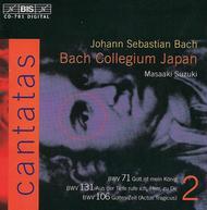 Volume 2: Cantatas BWV 71, 106, 13