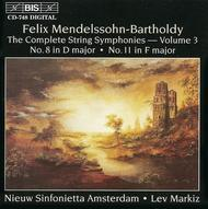 String Symphonies Nos. 8 and 1