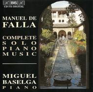 Falla: Complete Solo Piano Mus