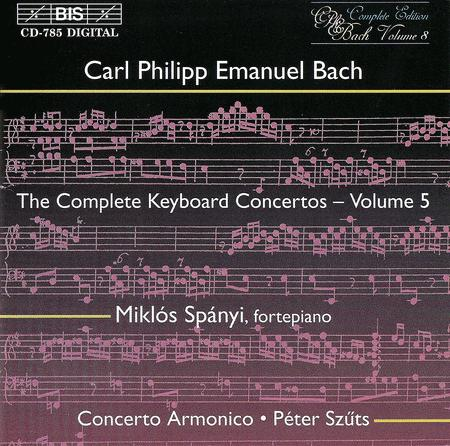 Volume 5: Keyboard Concertos