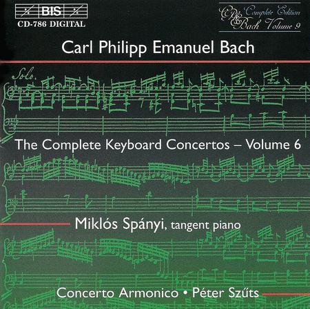 Volume 6: Keyboard Concertos