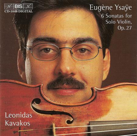 Ysaye: Six Sonatas for Solo Vi