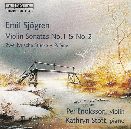 Sjogren: Violin Sonatas Nos. 1
