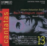 Volume 13: Cantatas BWV 25 50 64