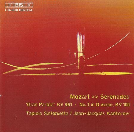 Serenades Nos. 1 and 10