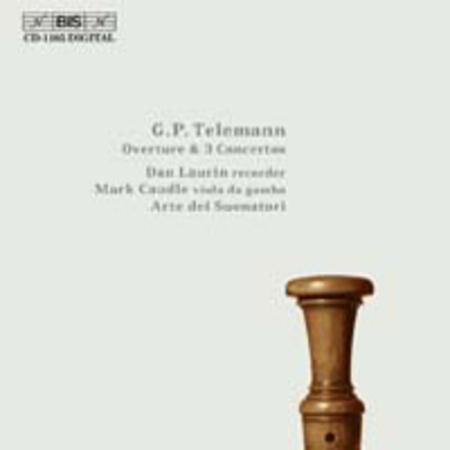 Overture; 3 Recorder Concertos