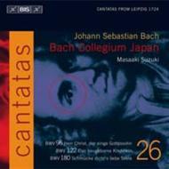 Volume 26: Cantatas BWV 96, 122, 1