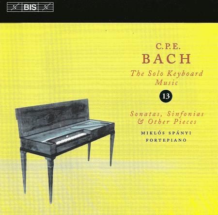 Volume 13: Keyboard Music