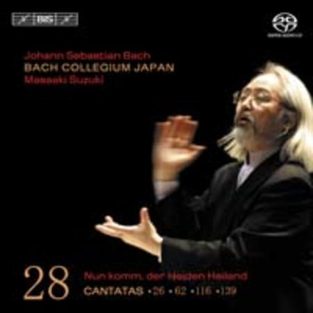 Volume 28: Cantatas BWV 26, 62, 116
