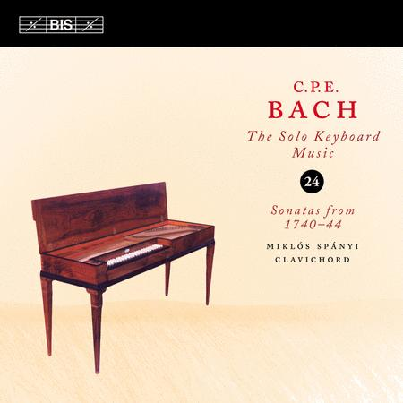 Volume 24: Solo Keyboard Music