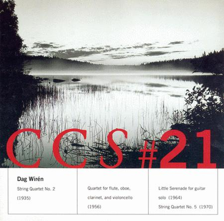 Wiren: String Quartet No. 2; Q