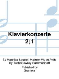 Klavierkonzerte 2;1