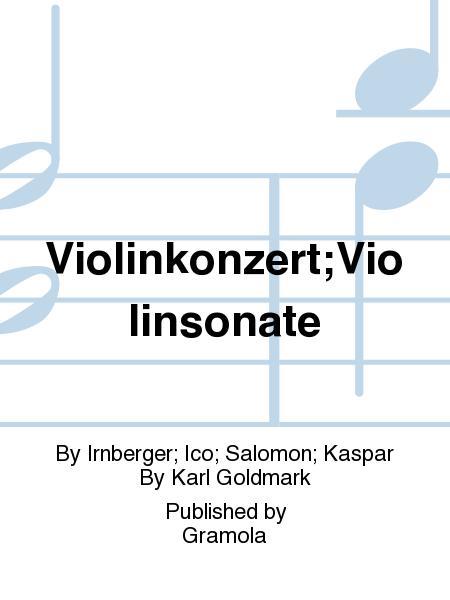 Violinkonzert;Violinsonate