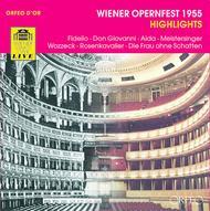 Wiener Opernfest 1955: Highlig