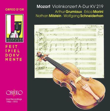 Violinkonzert A-Dur Kv 219