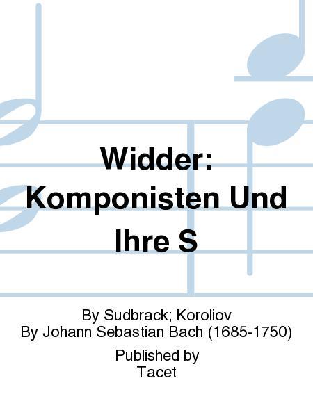 Widder: Komponisten Und Ihre S