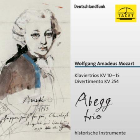 Klaviertrios Kv 10-15 Diverti