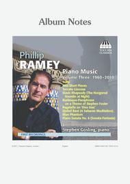 Volume 3: Piano Music 1960-2010
