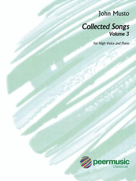 Collected Songs for High Voice - Volume 3