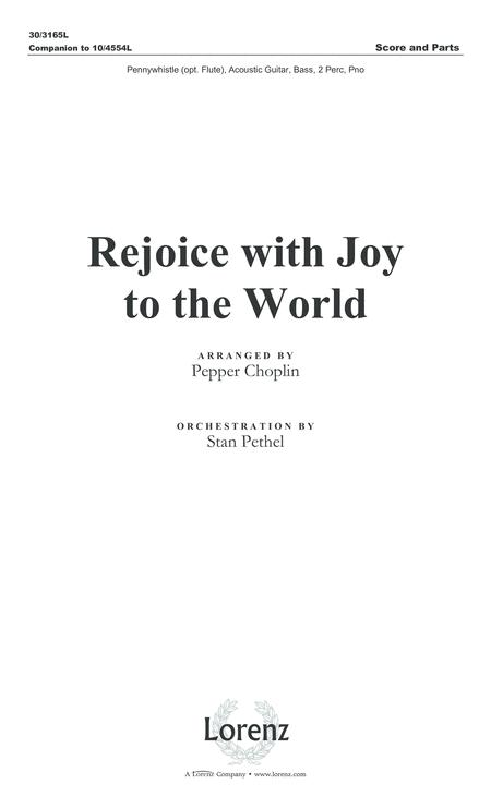 Rejoice with Joy to the World (Score only)