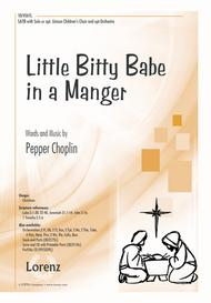 Little Bitty Babe in a Manger