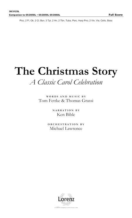 The Christmas Story - Full Score